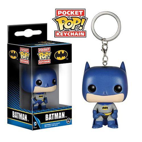 DC Comics - Batman Schlüsselanhänger - POP!: Funko