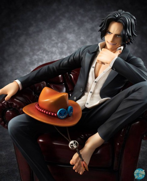 One Piece - Portgas D. Ace Statue - Excellent Model P.O.P. / SOC: MegaHouse