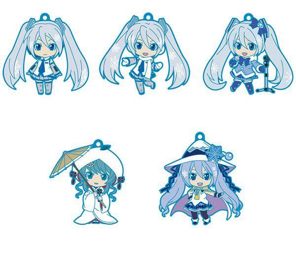 Character Vocal Series 01 - Hatsune Miku Nendoroid Schlüsselanhänger / 5er-Pack: Good Smile Company