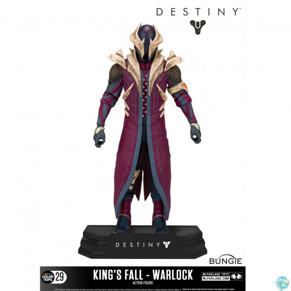 Destiny - Warlock (King's Fall) Actionfigur / Color Tops: McFarlane Toys