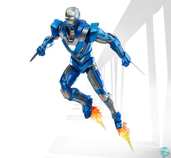 Iron Man 3 - Iron Man Actionfigur - Diecast / Mark XXX Blue Steel: Comicave Studios
