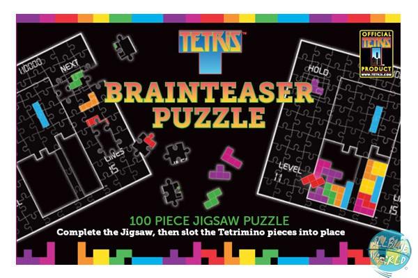Tetris Paladone Puzzle Brainteaser 2 in 1