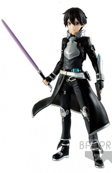 Sword Art Online - Kirito Figur / Overseas Original Version: Banpresto