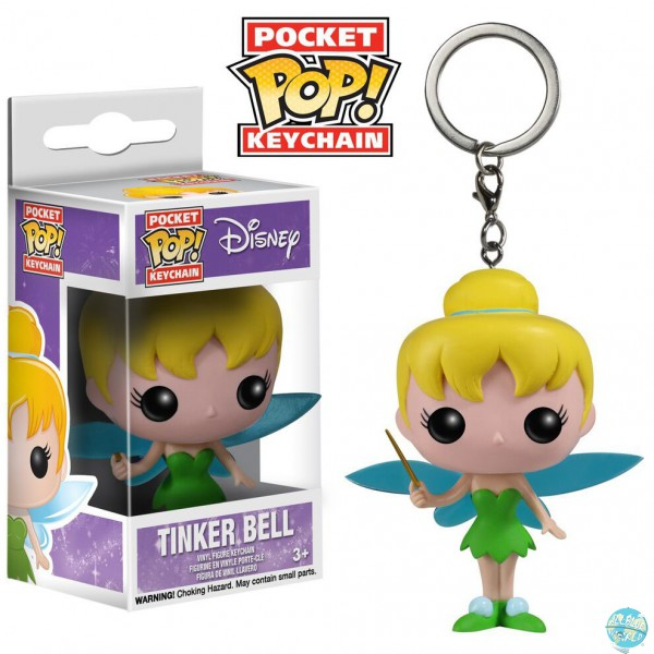 Disney Pocket POP! Vinyl Schlüsselanhänger Tinkerbell 4 cm