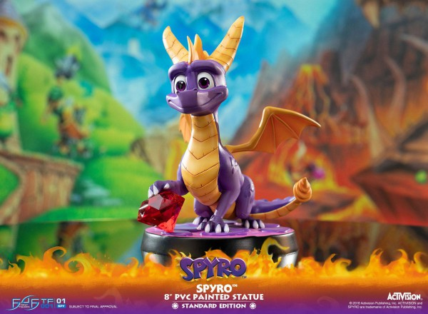Spyro the Dragon - Spyro Statue: First 4 Figures