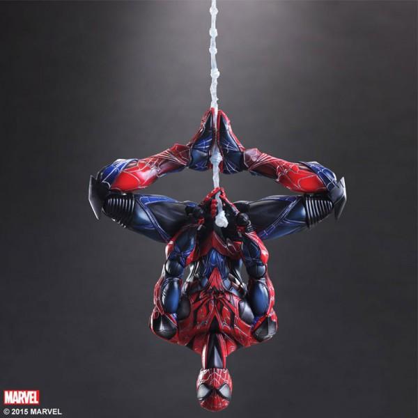 Marvel Comics - Spider-Man Actionfigur - Variant Play Arts Kai : Square Enix (leicht beschädigte Ver