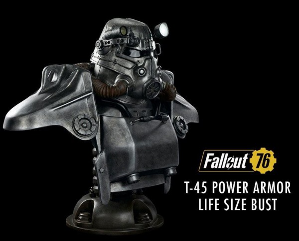 Fallout - T-45 Power Armor Life-Size Büste: Gaming Heads