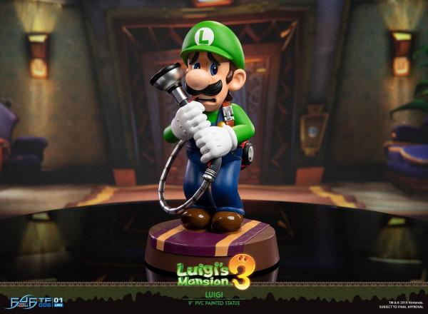 Luigi's Mansion 3 - Luigi Statue: First 4 Figures