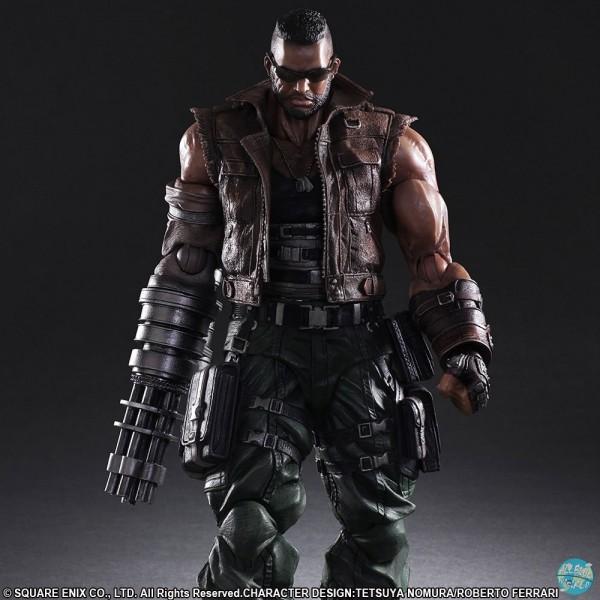 Final Fantasy VII Remake - Barret Wallace Actionfigur - No.2 Play Arts Kai: Square Enix