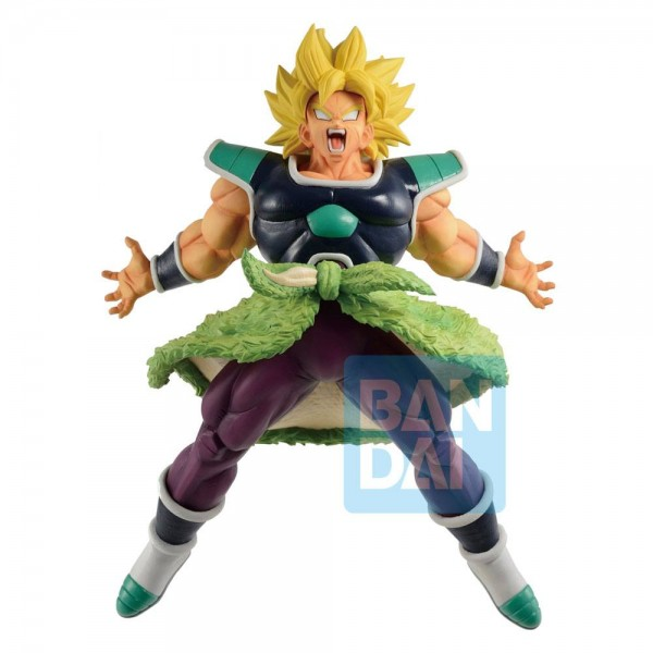 Dragon Ball Super - SSJ Broly Figur / Ichibansho - Rising Fighters: Bandai