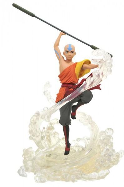 Avatar Der Herr der Elemente - Aang Statue: Diamond Select