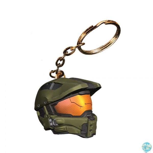 Halo 4 A Crowded Coop Vinyl Schlüsselanhänger Master Chief Helmet 4cm