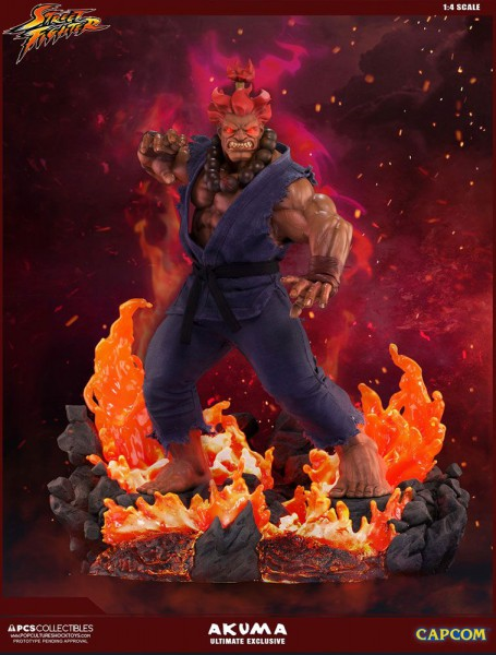Street Fighter - Akuma Statue / Ultimate Exclusive: Pop Culture Shock