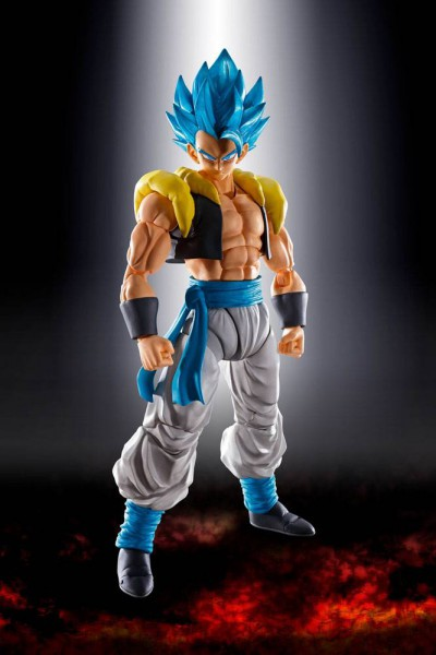Dragon Ball - SSGSS Gogeta Actionfigur / S.H.Figuarts: Tamashii Nations