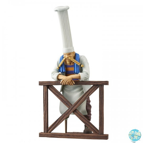 One Piece - Jeff Figur - Dramatic Showcase: Banpresto