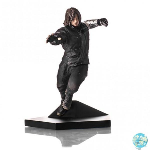 Captain America Civil War - Winter Soldier Statue: Iron Studios