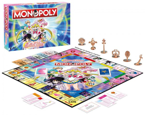 Sailor Moon - Monopoly - Deutsche Version: Winning Moves