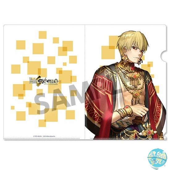 Fate/Extella - Mappe A4 Transparent - Gilgamesh: Hobby Stock