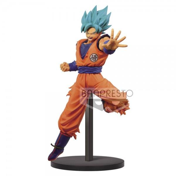 Dragon Ball Super - SSGSS Son Goku Figur / Chosenshiretsuden: Banpresto