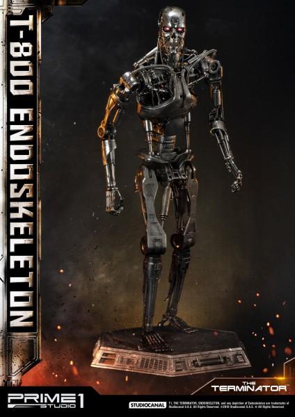 Terminator - T800 Endoskelett Statue: Prime 1 Studio