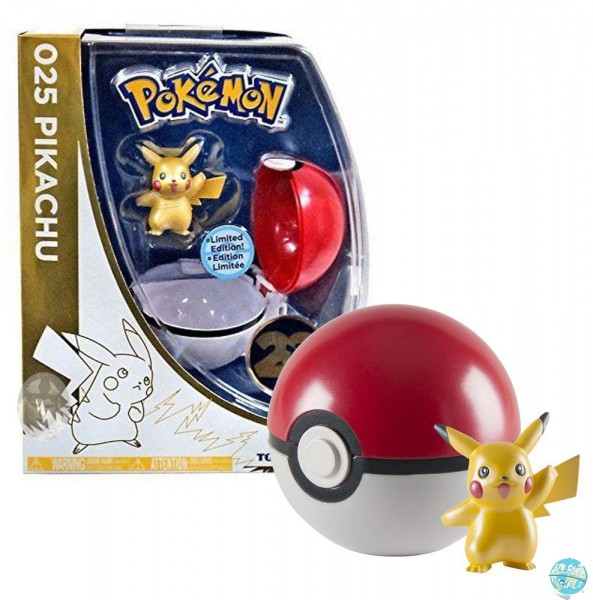 Pokemon - Clip´n´Carry Poké Ball mit Pikachu: Tomy