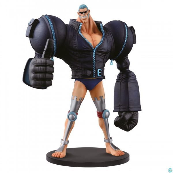 One Piece - Franky Figur - DXF / The Grandline Men: Banpresto