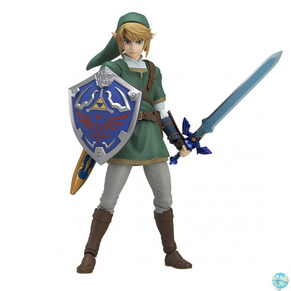 The Legend of Zelda Twilight Princess - Link Actionfigur - Figma - DX Version: Max Factory