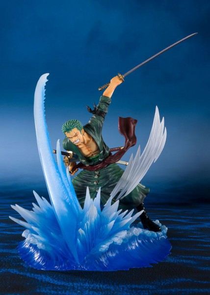 One Piece - Lorenor Zorro Figur / Battler Version - Yakkodori: Tamashii Nation