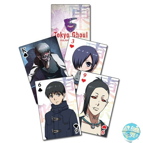 Tokyo Ghoul - Kartenspiel / Poker: GE Animation