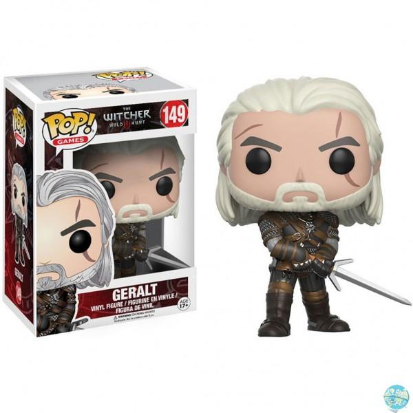 The Witcher - Geralt Figur - POP! Games: Funko