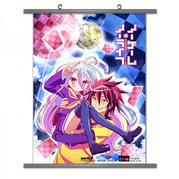 No Game No Life - Wallscroll / Motiv Sora & Shiro: CWD