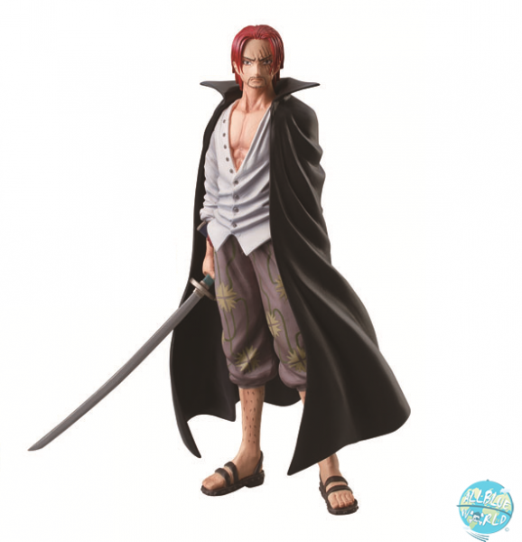 One Piece Shanks Figur - Styling Marine Ford: Bandai