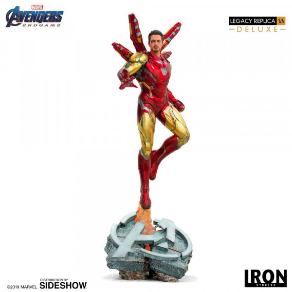 Avengers: Endgame - Iron Man Statue / Legacy Replica - Deluxe Version: Iron Studios