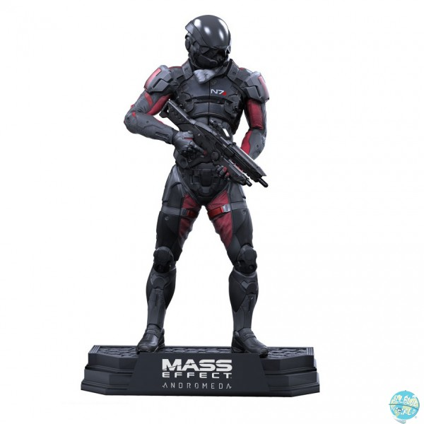 Mass Effect Andromeda - Scott Ryder Figur / Color Tops Reihe: McFarlane Toys