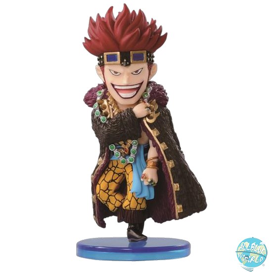 One Piece Eustass Kid Banpresto World Collectible Figure (WCF) Vol.1 6cm