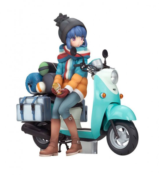 Laid-Back Camp - Rin Shima with Scooter Figur: Alter