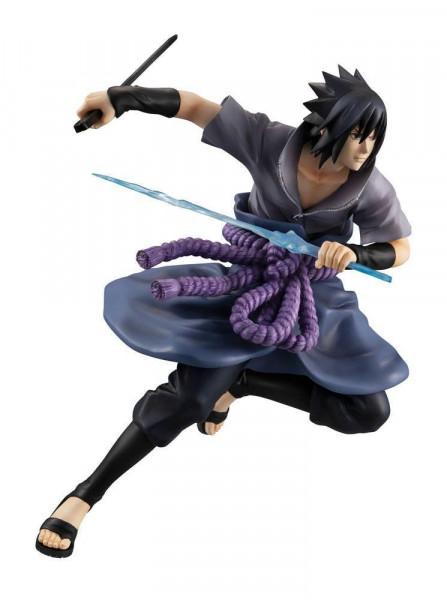Naruto Shippuden - Sasuke Uchiha Statue / G.E.M.Series - Shinobi World War Version: MegaHouse