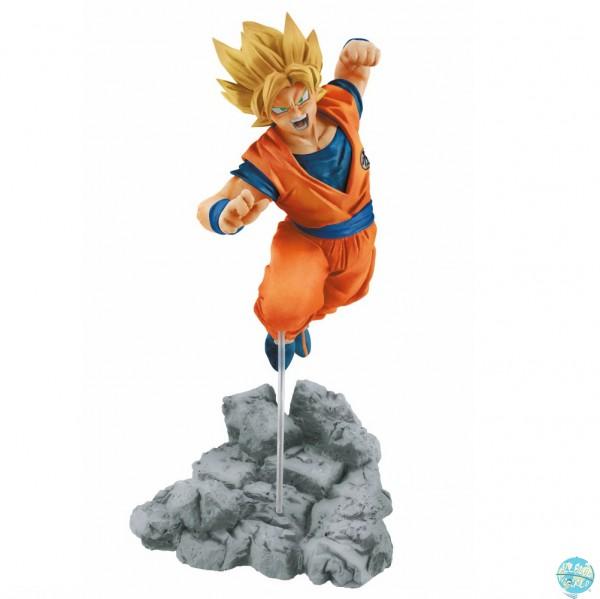 Dragonball Super - SSJ Son Goku Figur - Soul x Soul: Banpresto
