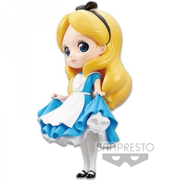 Disney - Alice Figur / Q Posket - Normal Color Version: Banpresto