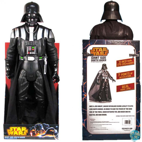 Star Wars Jakks Pacific Darth Vader Giant Size Actionfigur 79cm