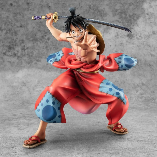 One Piece - Ruffy Statue / P.O.P Warriors Alliance: MegaHouse
