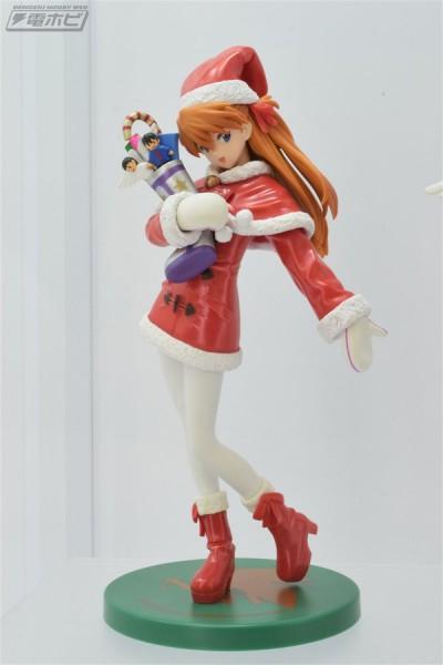 Neon Genesis Evangelion - Asuka Langley Souryuu Figur / Christmas: Sega