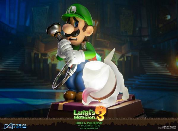 Luigi's Mansion 3 - Luigi & Polterpinscher Statue / Collector's Edition: First 4 Figures