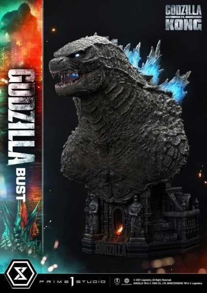 Godzilla vs Kong - Godzilla Büste / Bonus Version: Prime 1 Studio