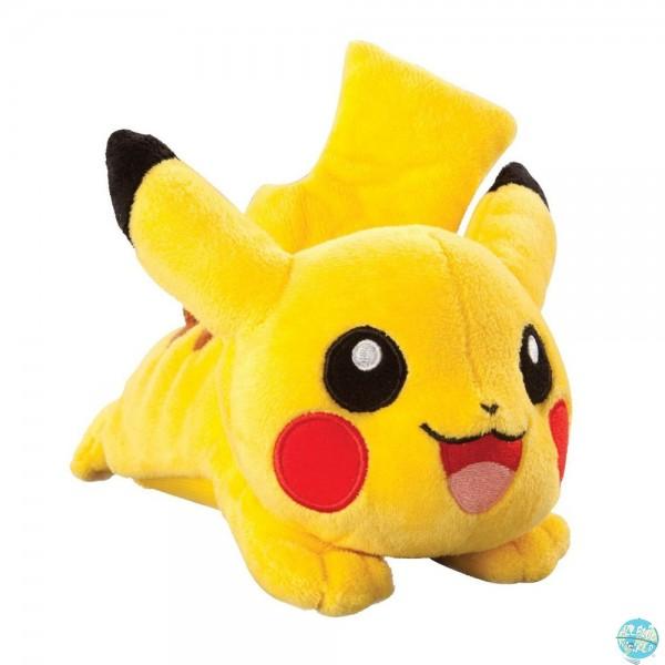 Pokemon - Pikachu mit Sound Plüschfigur: Tomy
