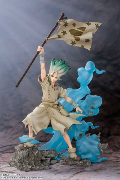 Dr. Stone - Senku Ishigami Figur / FiguartsZERO: Tamashii