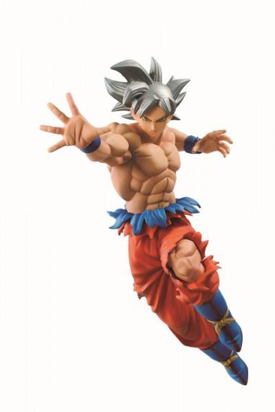 Dragonball Super - Son Goku Figur / In Flight Fighting - Ultra Instinct: Banpresto