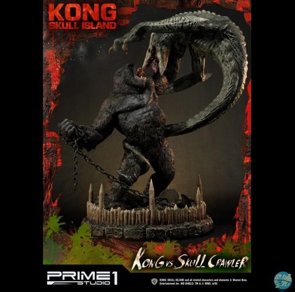 Kong Skull Island - Kong vs Skull Crawler Statue: Prime 1 Studio