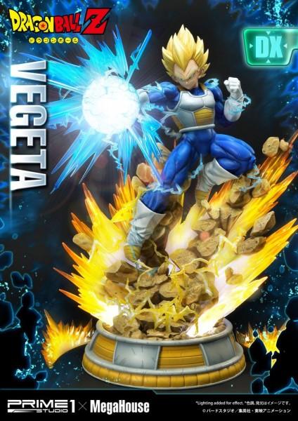 Dragon Ball Z - Super Saiyajin Vegeta Statue / Deluxe Version: Prime 1 Studio