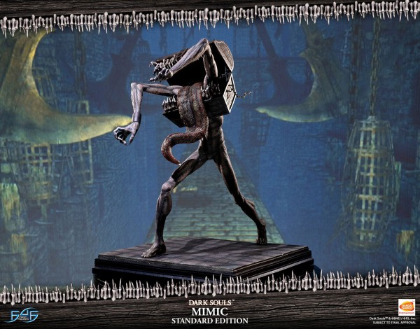 Dark Souls - Mimic Statue / Standard Edition: First 4 Figures